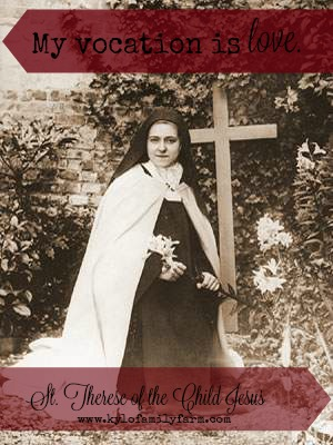 Our Patroness, St. Therese