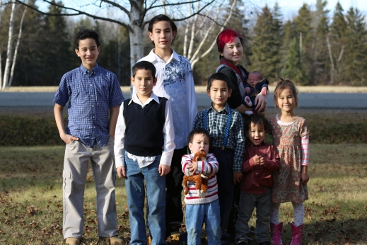Picture of kids Christmas 2015